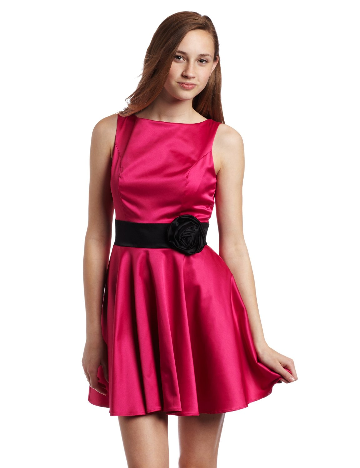 Black And Pink Dresses For Women