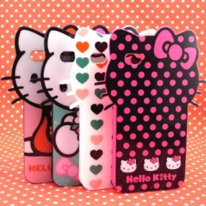 Hello Kitty iPhone Case Black/Hot Pink/Polka Dot