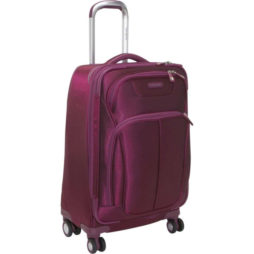 Samsonite Luggage Hyperspace Spinner 21.5 Expandable Suitcase ...